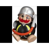 Chubby Smoker firefighter