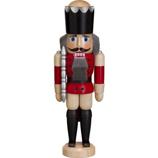 Seiffener Volkskunst eG nutcracker king red glazed