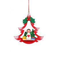 Christian Ulbricht tree decoration fir with angel